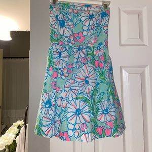 Lilly Pulitzer Lottie Strapless Dress